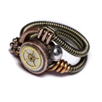 Steampunk Ring Mixed metal by CatherinetteRings