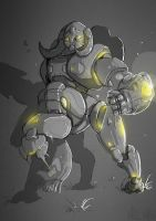 Orisa - Overwatch by Ayane45
