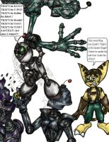 Clank Goes Psycho by RatchetandClankFans