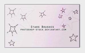 Stars Brushes by photoshop-stock