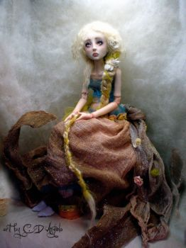 Rapunzel Ball jointed doll CC by cdlitestudio