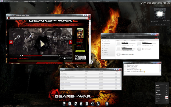 Gears of war preview by invaderjohn