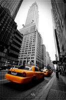 Chrysler Building by hmdll