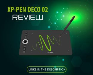 XP pen Deco 02 Review by JesusAConde