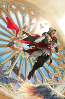 Reflections (Ezio) unused cover by sunsetagain