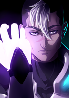 Shiro - VOLTRON LEGENDARY DEFENDER by Dunklayth