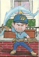 Fix-it Felix Jr., The Water Bender by DisneyThorn92