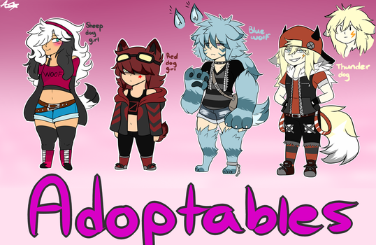 [CLOSED] Adoptable batch 5 by Noodlestar0220