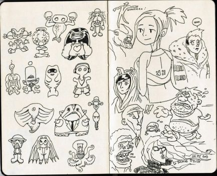 Sketchbook 5 by The-Mirrorball-Man