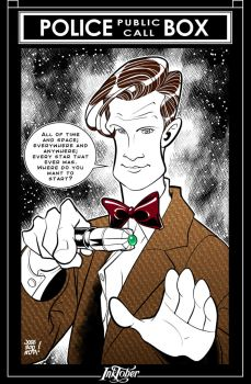 Inktober 12: 11th Doctor by JOSERODRIGUEZMOTA