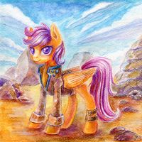 Scootaloo by Maytee