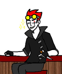 UNNECESSARILY SMALL JACK SPICER by Psychosis13
