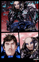Gantz Lider Vs Alien by Lunatikaa