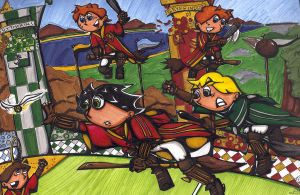 COS Quidditch Match by Toosh512