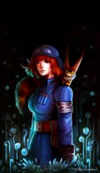 Nausicaa of the Valley of the Wind by TheSacredMushroom