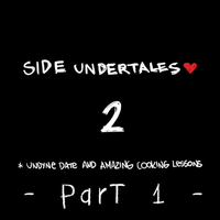 GIF Side Undertales -2- Undyne Date (PART 1) by Asten-94