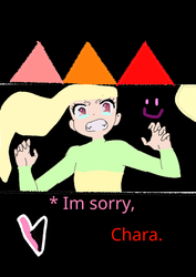 * Im sorry, Chara. by FelicitySWorld