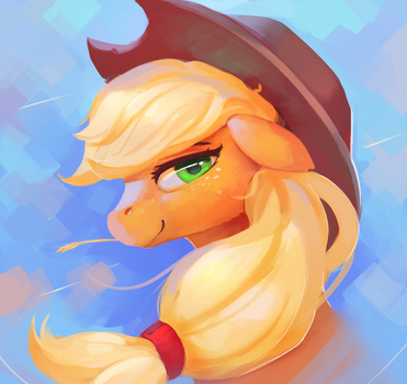Applejack by Rodrigues404