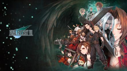 Final Fantasy 7 - Wallpaper by evilgun
