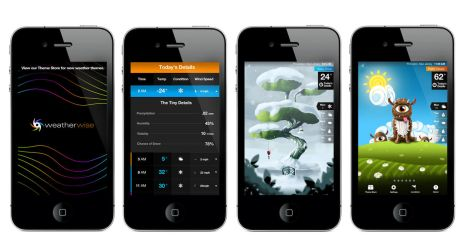 Weatherwise iphone android app by rjayhaluko
