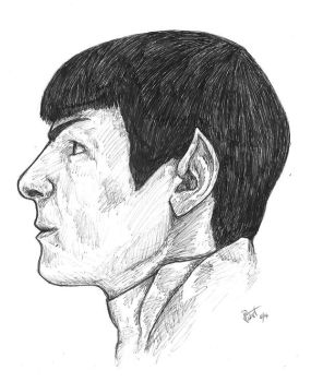 Science Officer Spock by Wolfie-West