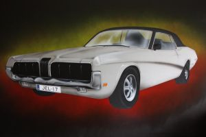 mercury cougar by janzu77