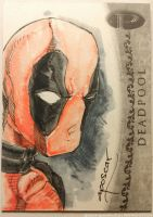 Upper Deck Marvel Premier: Deadpool by aposcar
