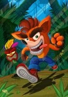 Crash Bandicoot by JFRteam