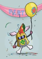 'PARTY': 1,000 Pageviews by E-122-Psi