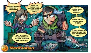 Resident Evil Revelations by JFRteam