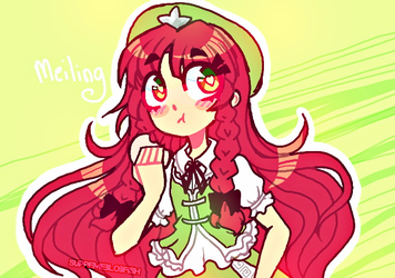 3. Meiling by ThePirateDoge