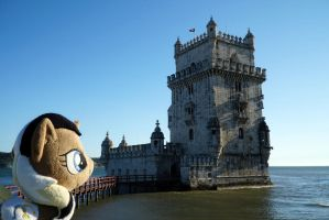 Unity at Belem Tower, Lisbon by Cabraloca