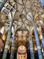 Jeronimos Monastery in Lisbon, Portugal by vmribeiro