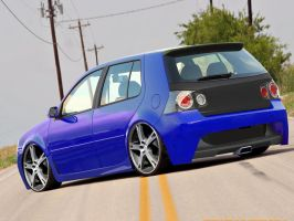 VW Golf by fabiolima-designer