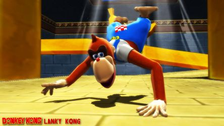 (MMD/FBX Model) Lanky Kong Download by SAB64