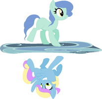 Dual pool adopt (mlp) by CheshireGrinAdopts