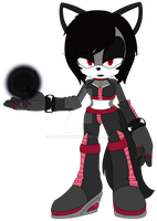 .:Kira the Catwolf:. .:New Outfit:. by BunnyVirus