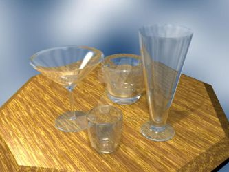 Bar Glasses by dracos