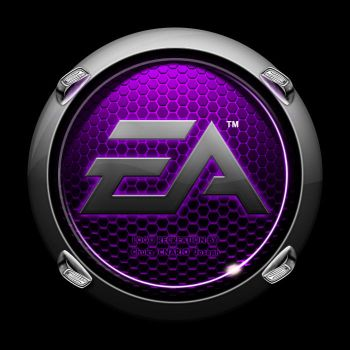 Pimped EA Crysis Logo - purple by CNARIO