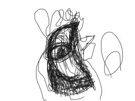 BLIND CONTOUR DRAWING 2 by coolpop0617