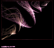 Feather 'Windy' Fractal by amanitaverosa