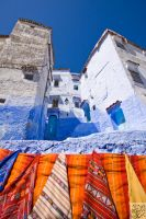 Chefchaouen: Blue as the Sky by Mgsblade
