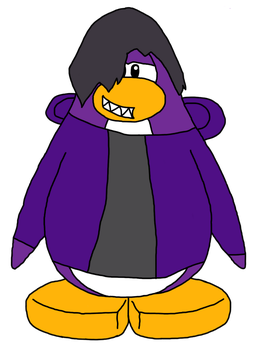 YuriOfWind the Club Penguin penguin by superspyro90