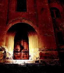 church door by blackasmodeus