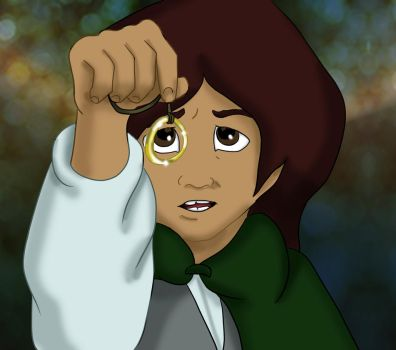 LoTR Frodo Animated (1978) by dragondoodle