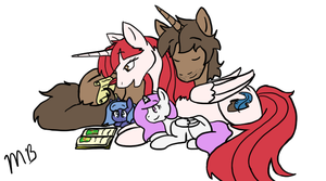 Family Time by Moonstruck-badger