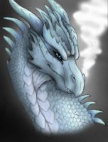 Silver Dragon by KTechnicolour
