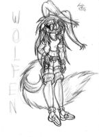 Wolfen New Look Idea Sketch by Candy-Ice