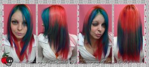 Cherry Colorful New Hair Style by cherrybomb-81