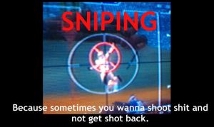 SNIPING by niner9
